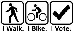 I bike I vote