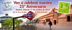 25 aniversario de Conbici