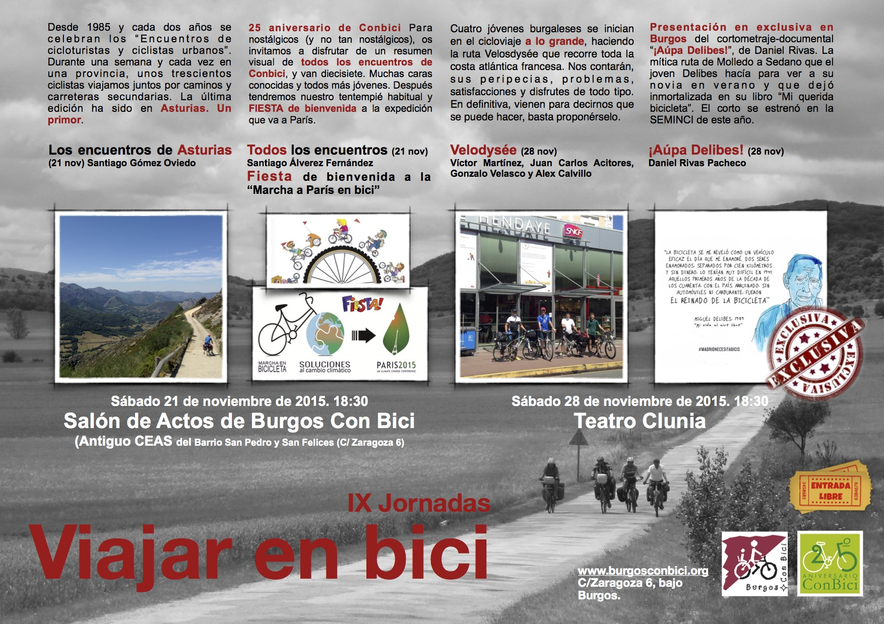 Viajes en bici
