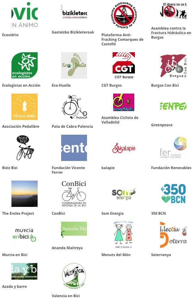 Grupos colaboradores en el proyecto Soluciones