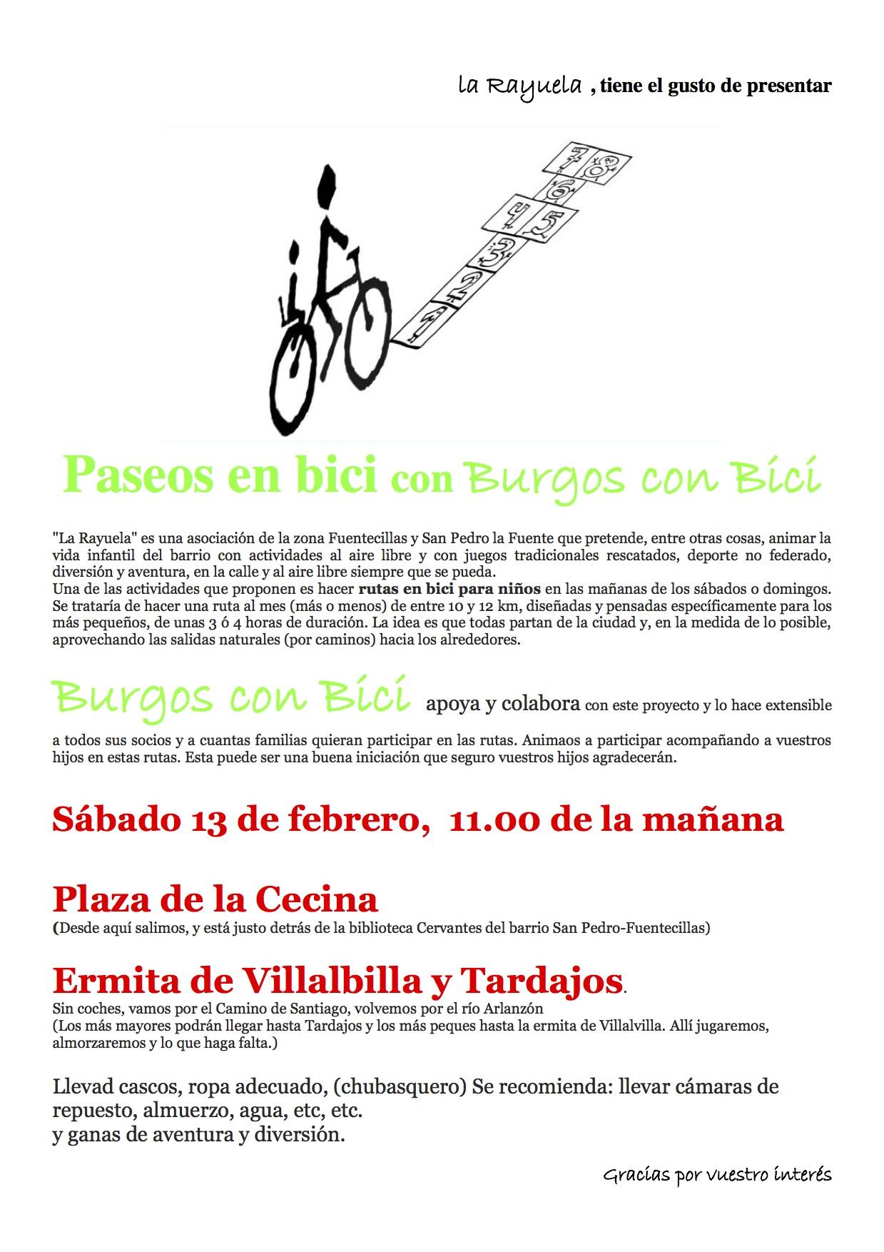 Cartel La Rayuela BCB