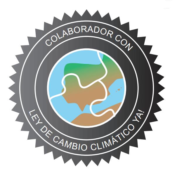 Logo de la campaña ley de cambio climático ya