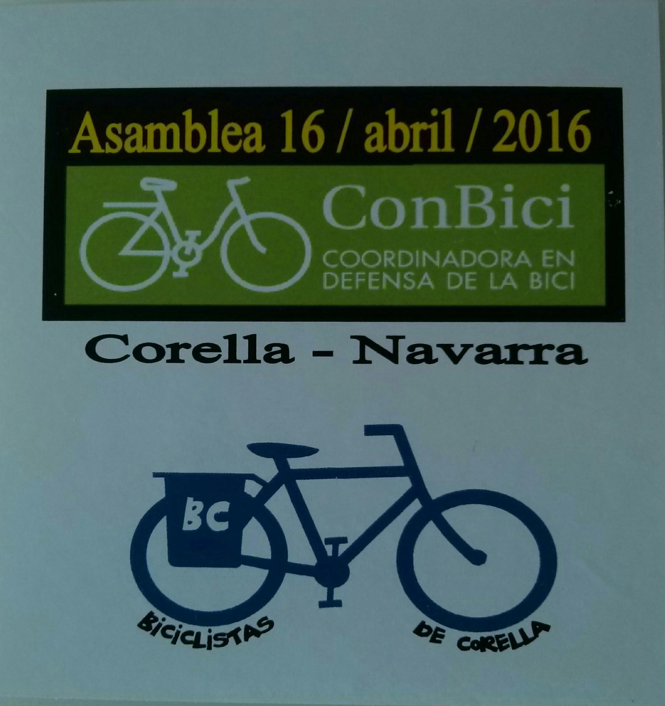 Cartel Asamblea de Corella
