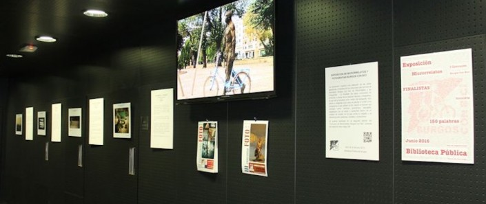 Sala de exposiciones de la Biblioteca pública. Plaza de San Juan
