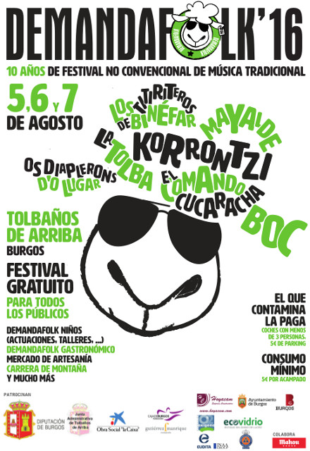Cartel demanda folk 2016