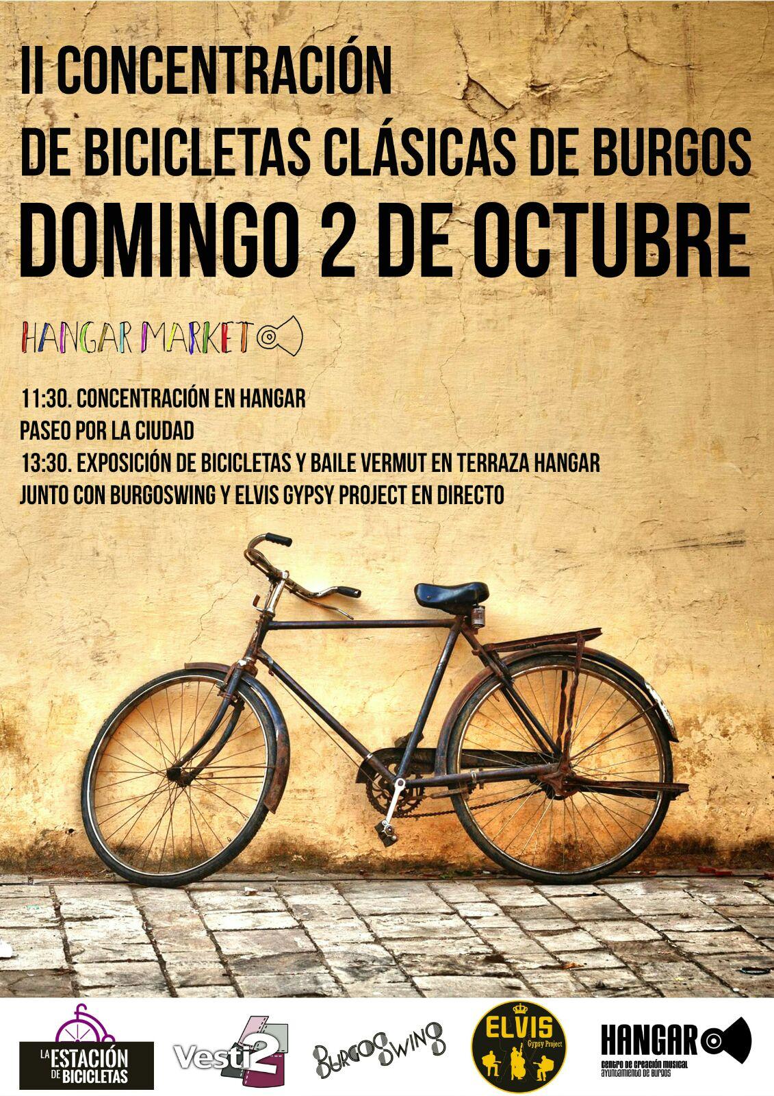 Cartel II Concentración de bicis clásicas