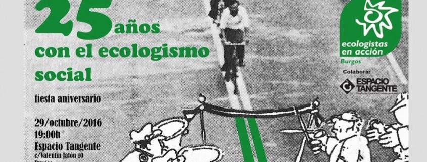 25 aniversario Ecologistas en Acción Burgos