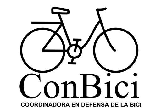 Logo de la coordinadora en defensa de la bici. Conbici