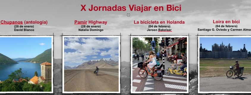 X Jornadas Viajar en Bici