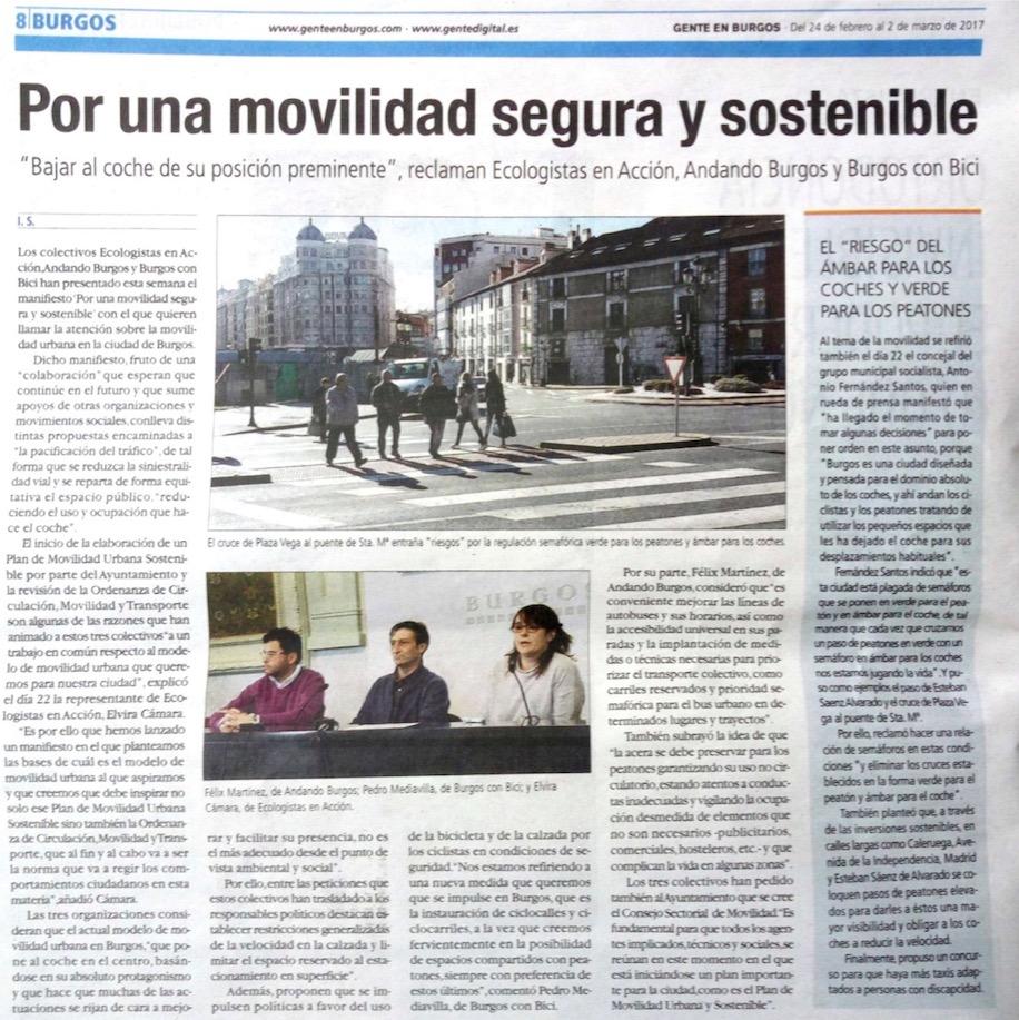 20170224. Gente. Manifiesto Movilidad. 2