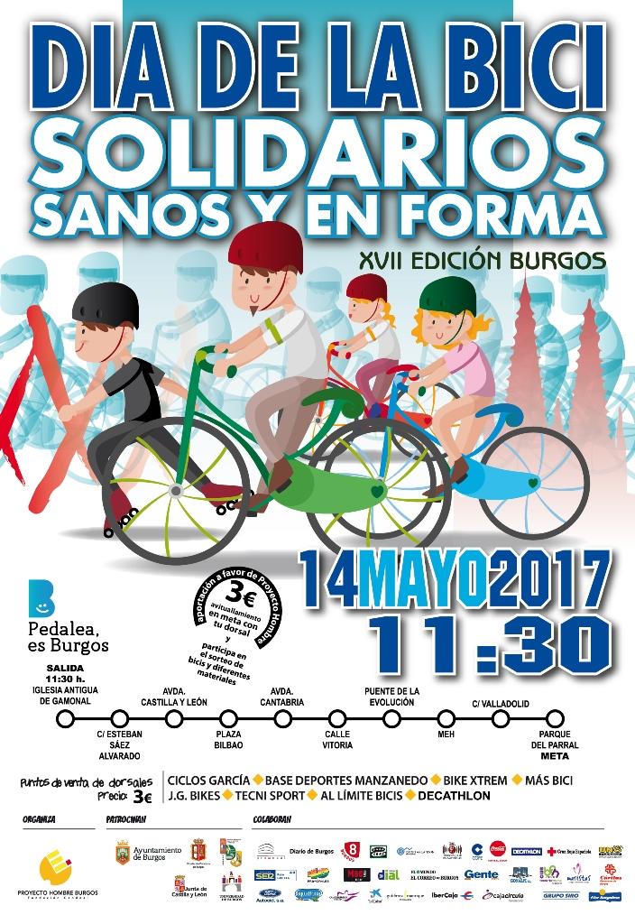 Día de la bici 14 mayo 2017