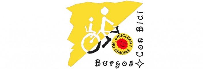 Logo Burgos Con bici nuclear no