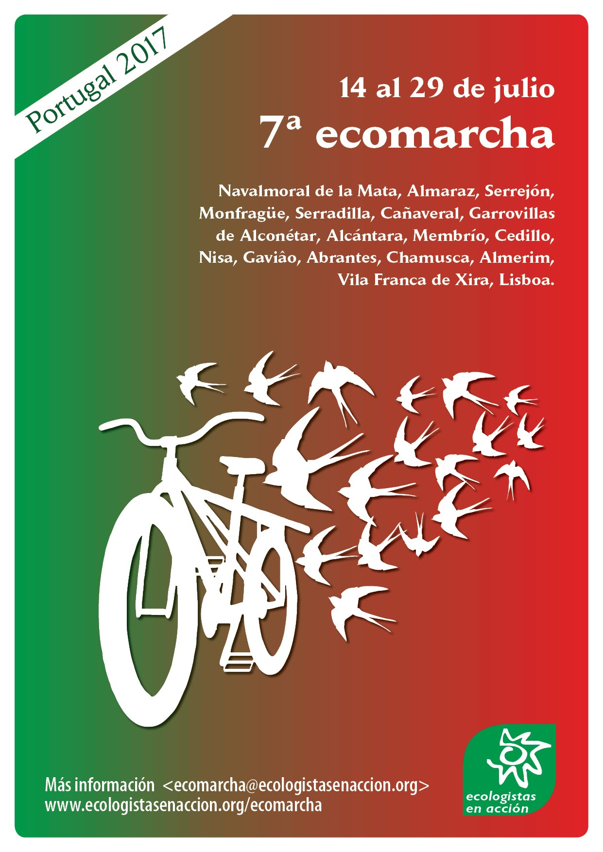 ecomarcha-2017-Río tajo. España Portugal