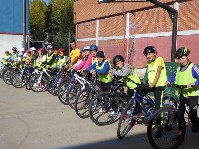Jornada práctica de educación ciclista