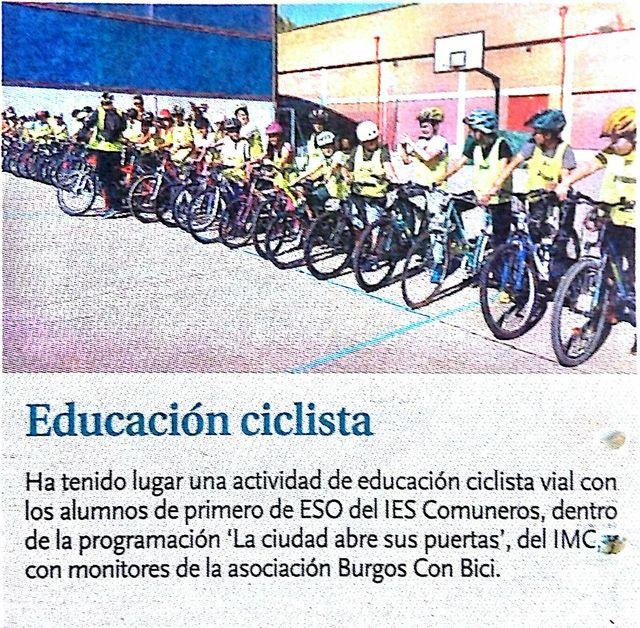 Ruta comuneros en Diario de Burgos del 31de octubre_result