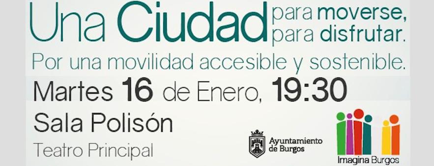 Charla movilidad Imagina. Banner