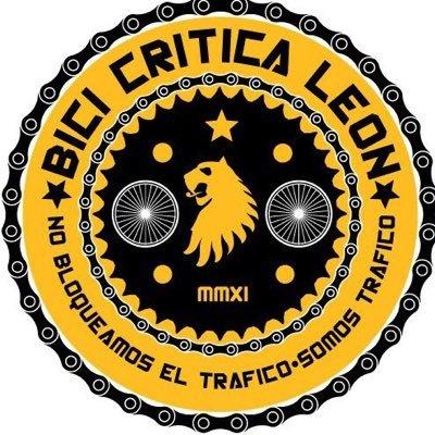 Logo del colectivo bici crítica León