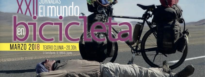 BAnner XXI Jornadas el mundo en bicicleta