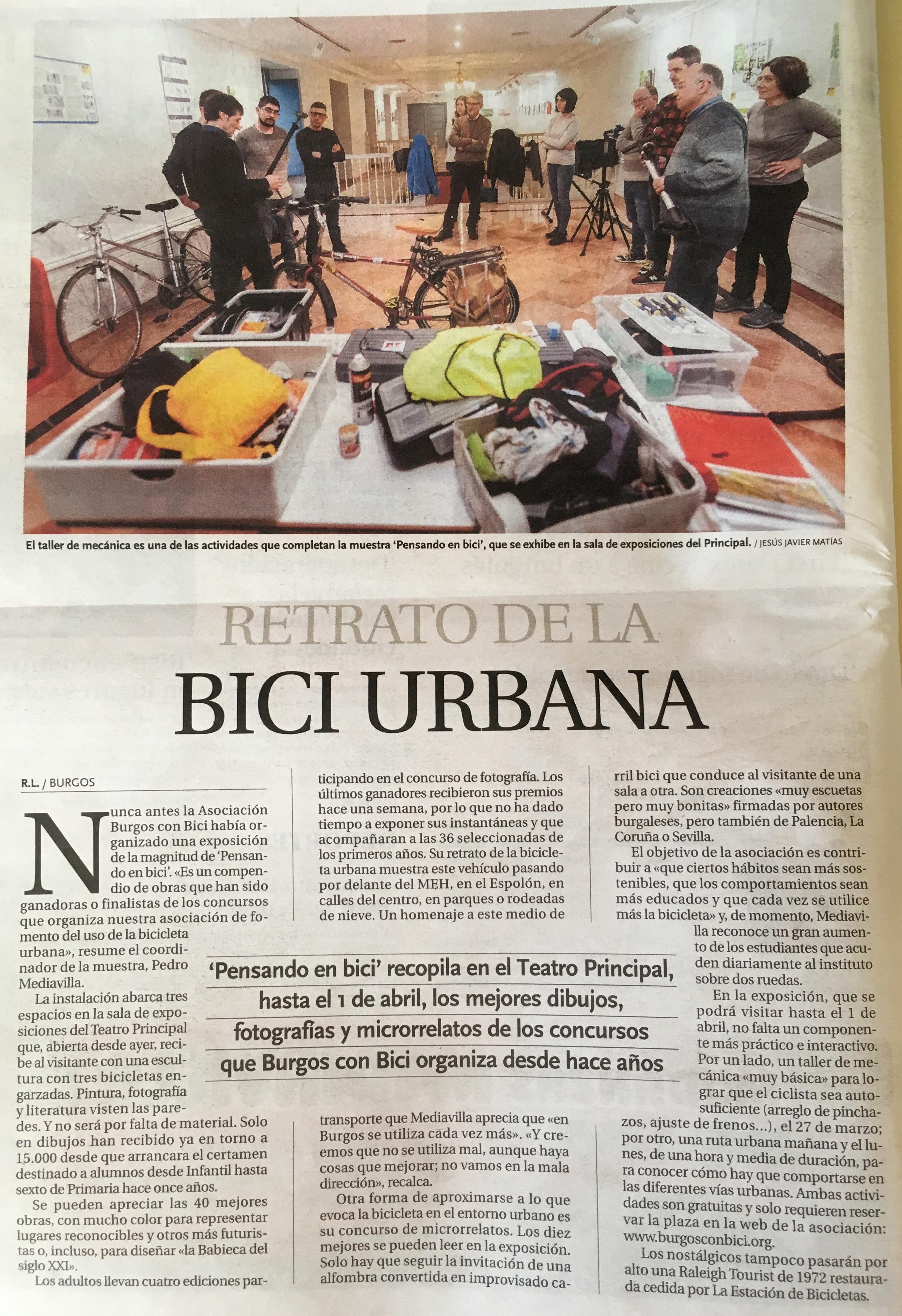 Diario de Burgos 21:marzo:2018