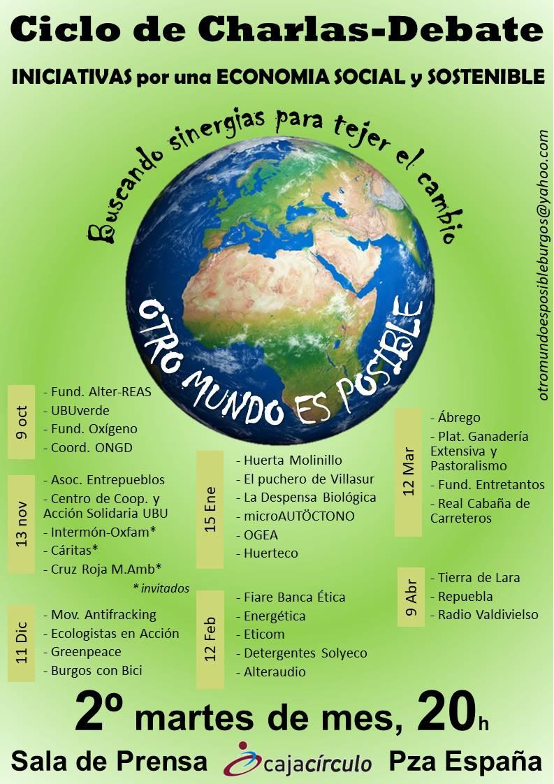 OTRO MUNDO ES POSIBLE. CICLO DE CONFERENCIAS DE 30 COLECTIVOS