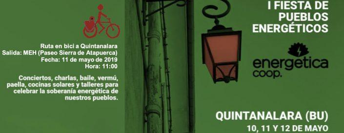 I Fiesta Pueblos energéticos. 10, 11 y 12 de mayo