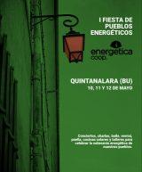Cartel I Fiesta pueblos Energéticos. En Qintnalara