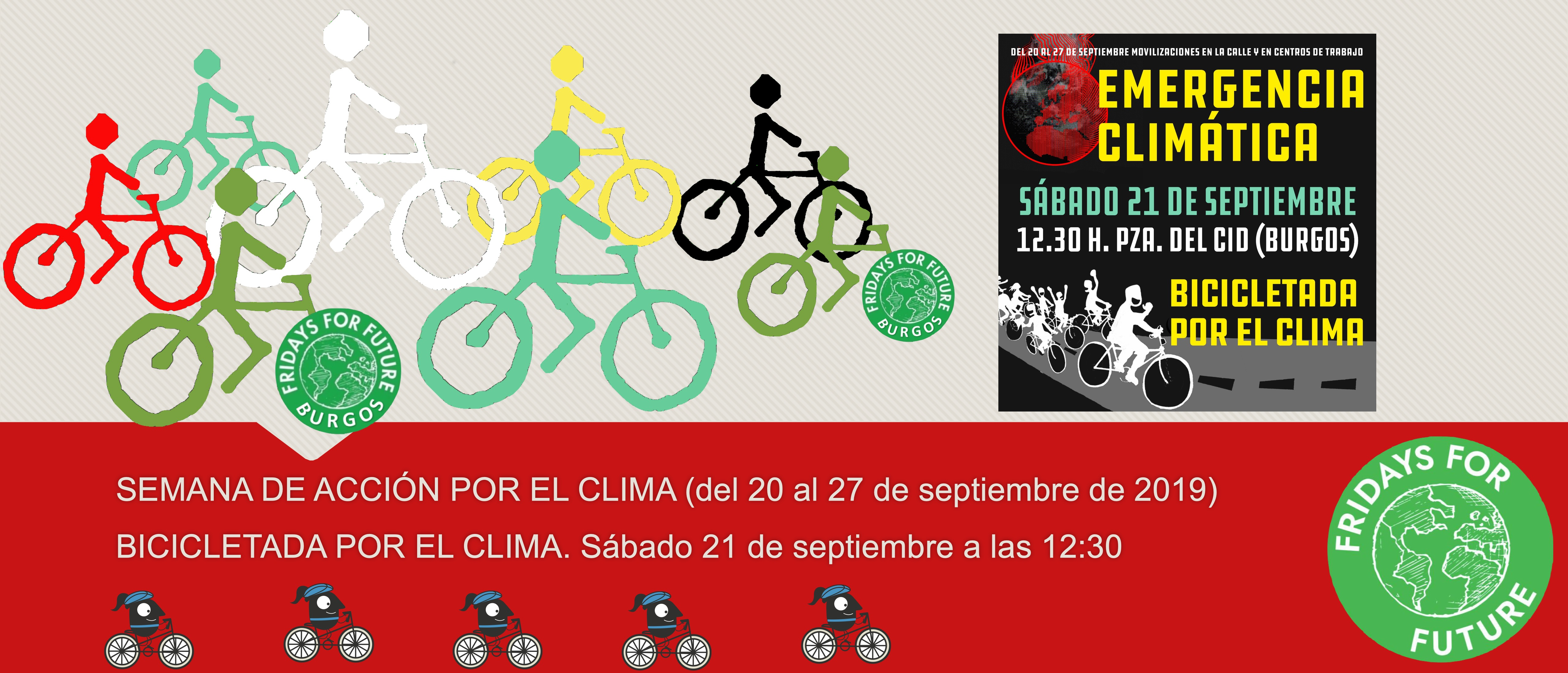 Sábado 21 de septiembre de 2019. Salida a las 12:30 desde la plaza del cid de Burgos