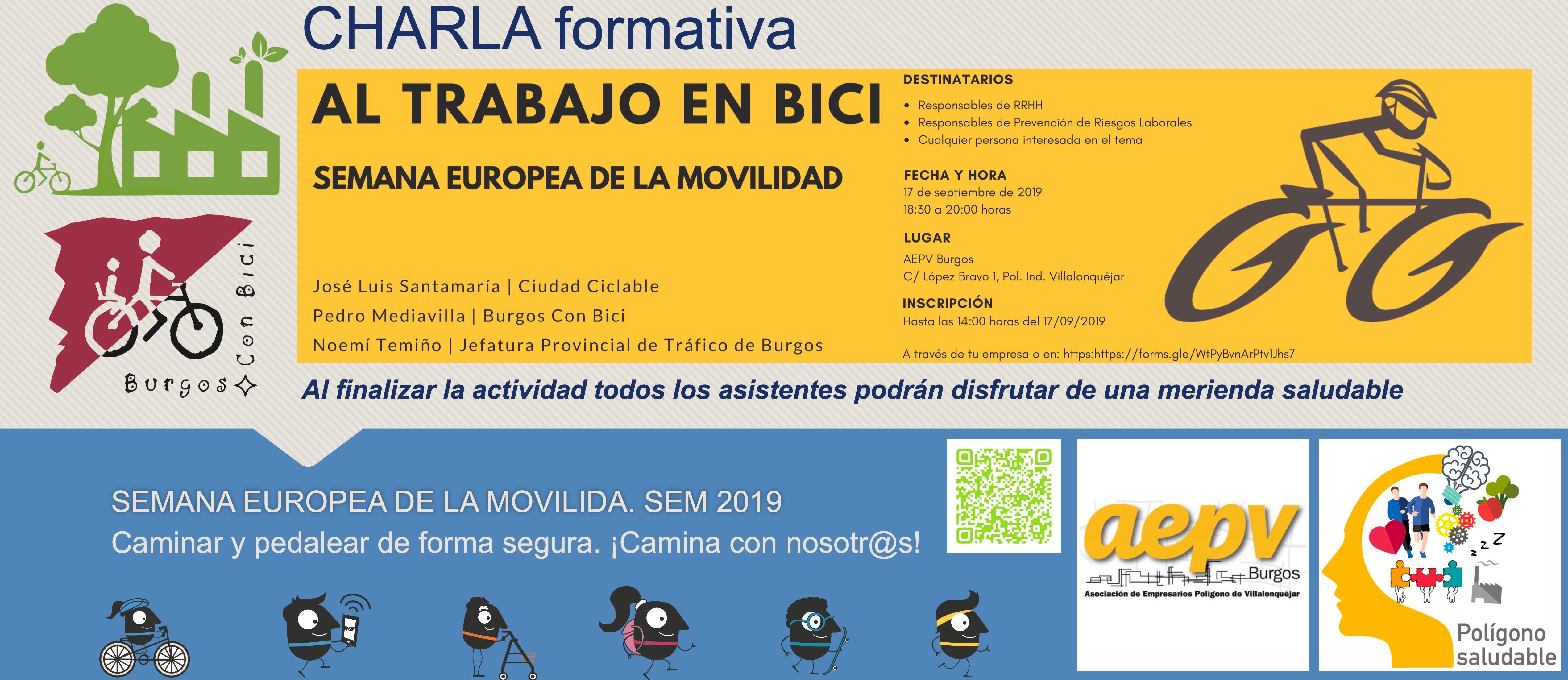 17 de septiembre de 2019, a las 18:30 en la sede de la asociación de empresarios del polígono de Villalonquéjar