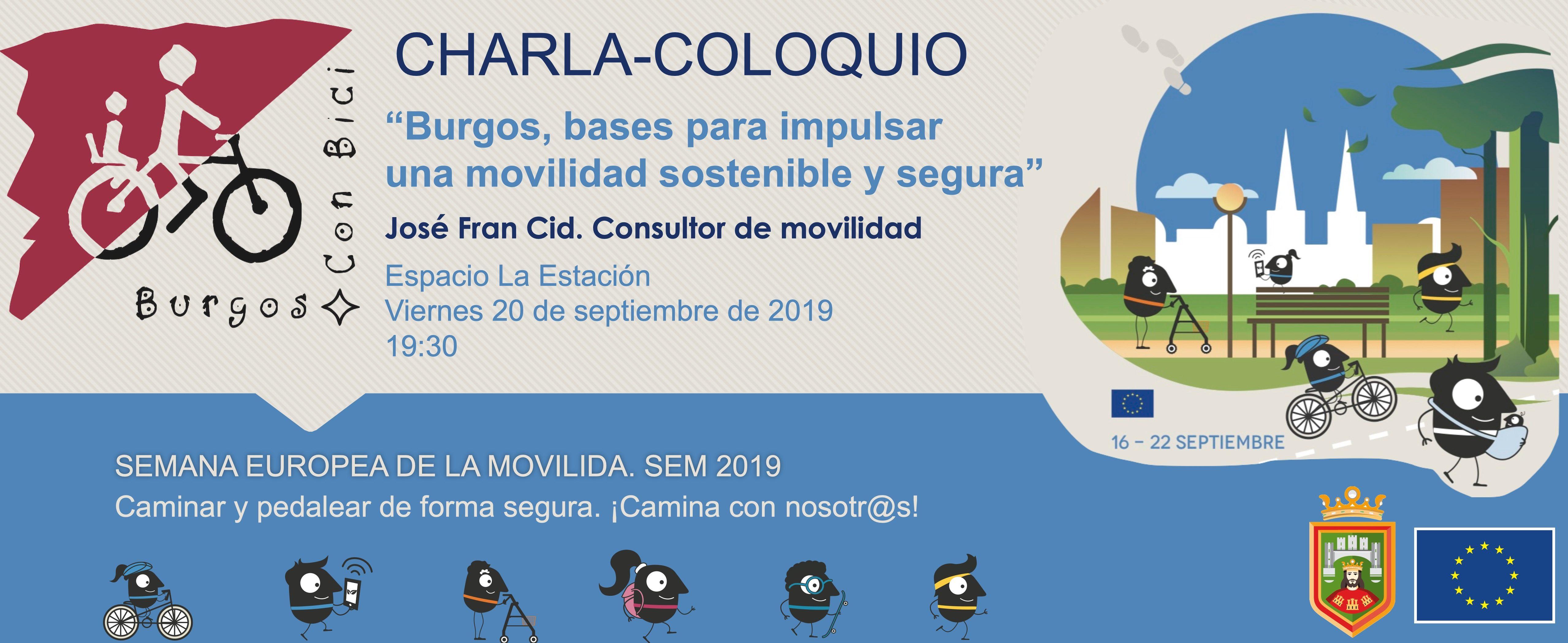 Viernes 20 de septiembre de 2019 a las 19:30 en el Espacio La Estación de Burgos