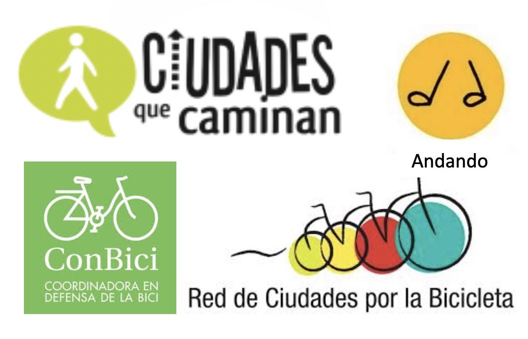 Logos de los colectivos que firman el manifiesto