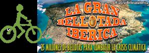 Bici y cartel de la gran bellotada ibérica