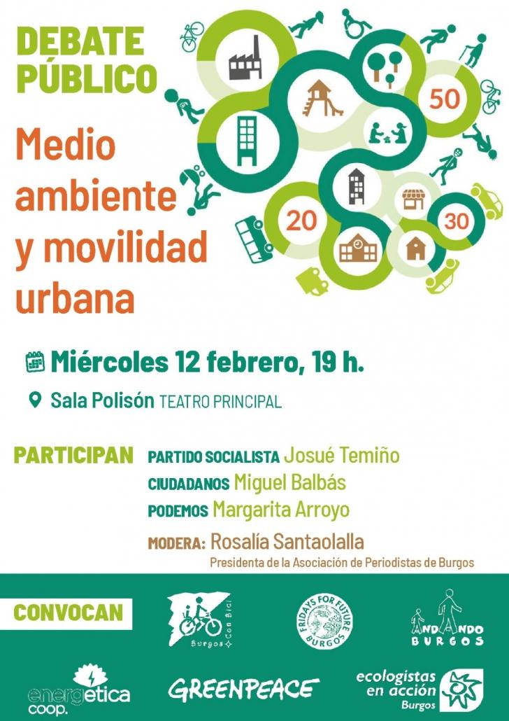 miércoles 12 de febrero de 2020 en la Sala Polisón de Burgos