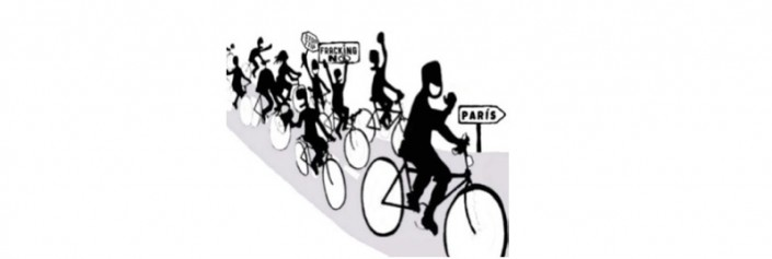 Biciccletada contra el cambio climático