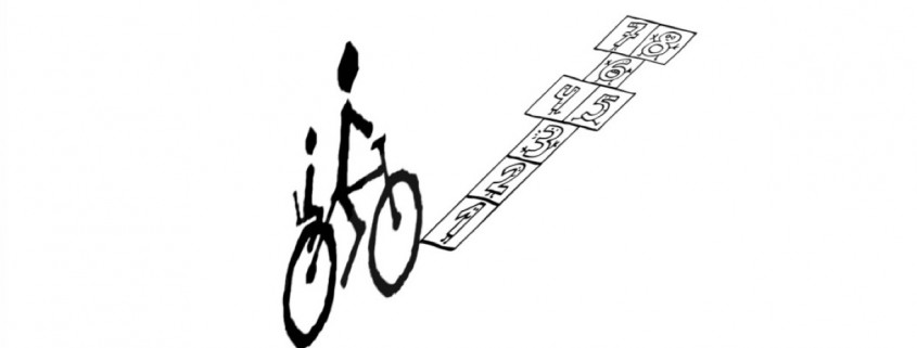 Bici y rayuela