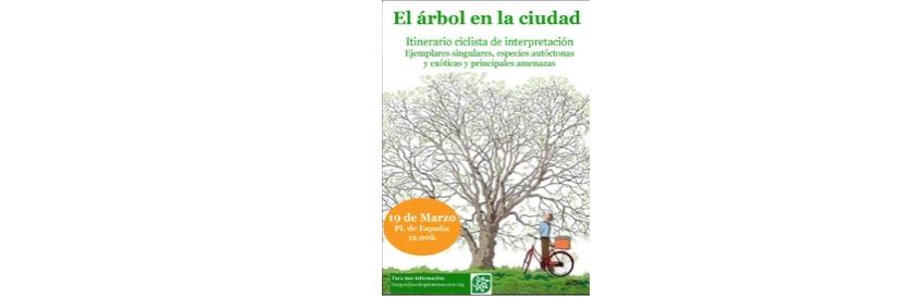 Cartel El árbol en la ciudad
