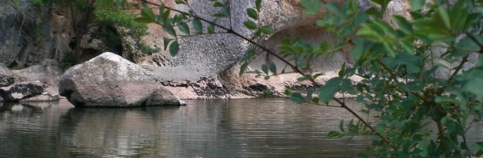 Río Alanza. Poza