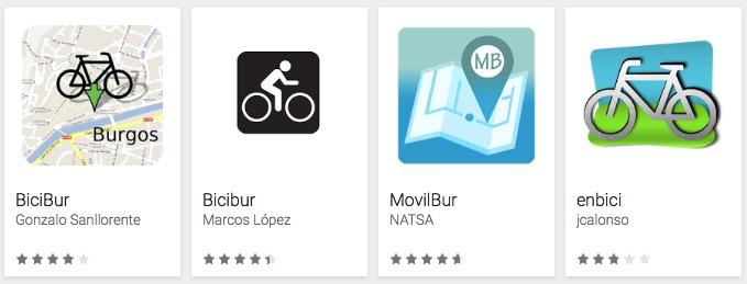 Apps para Bicibur