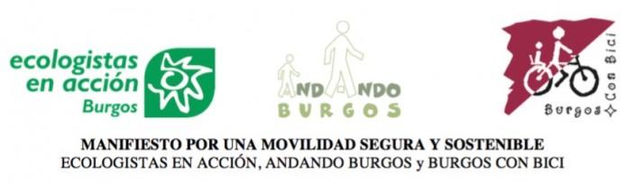 Banner Manifiesto por una movilidad segura y sostenible