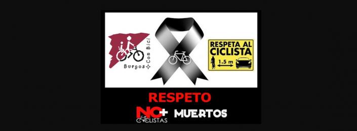 Respeto. No más ciclistas muertos