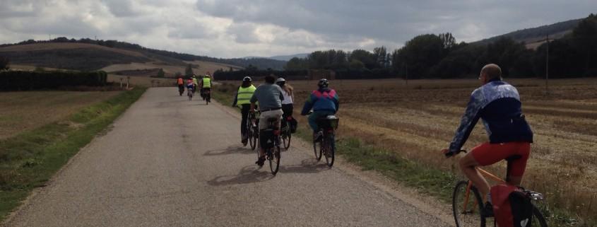 Cicloturiestas en carretera