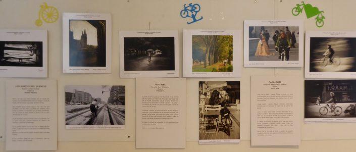 Algunos fotos y microrrelatos con tema de bicicleta