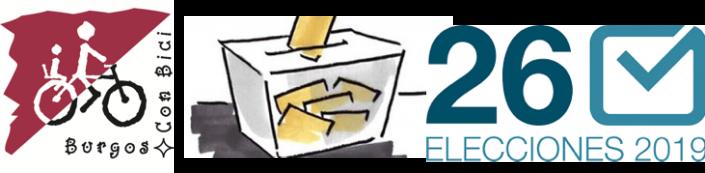 Logo de Burgos Con Bic, urna logos elecciones 26 mayo 2019
