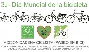 Día Mundial de la bici. 3 de junio