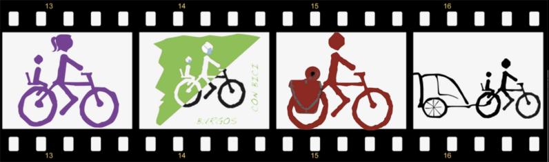 Celuloide cinematográfico con logos de BCB