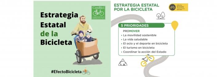 prioridades. Fomentar la movilidad sostenible, la vida saludable, el ocio y el deporte en bicicleta, el turismo en bici y coordinar la acción del Estado